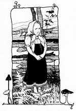 Рисунок из книги царевна лягушка