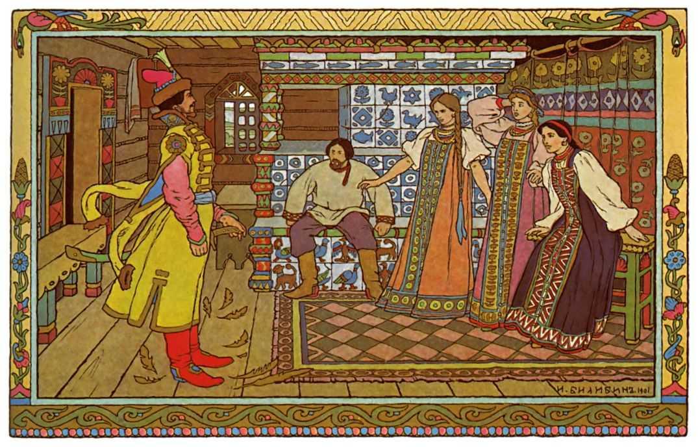 Детские рисунок к сказке сестрица аленушка