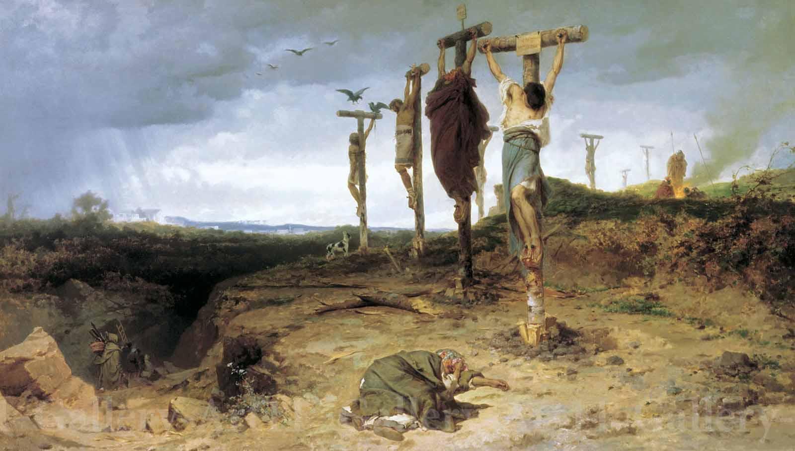 Рабыни на кресте 4 фотография