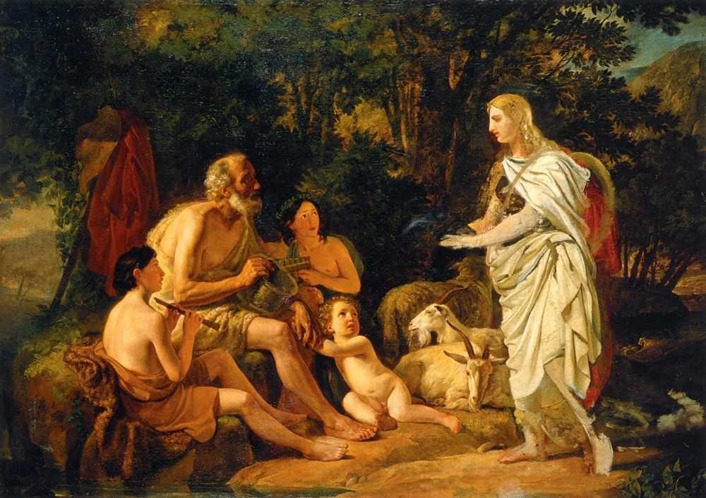 Жители древней Помпеи своей