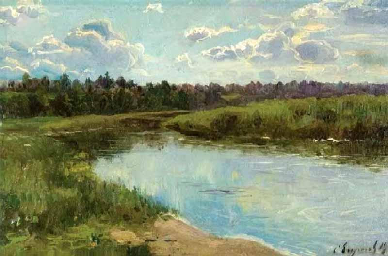 Егорнов Сергей Семенович. Летний день