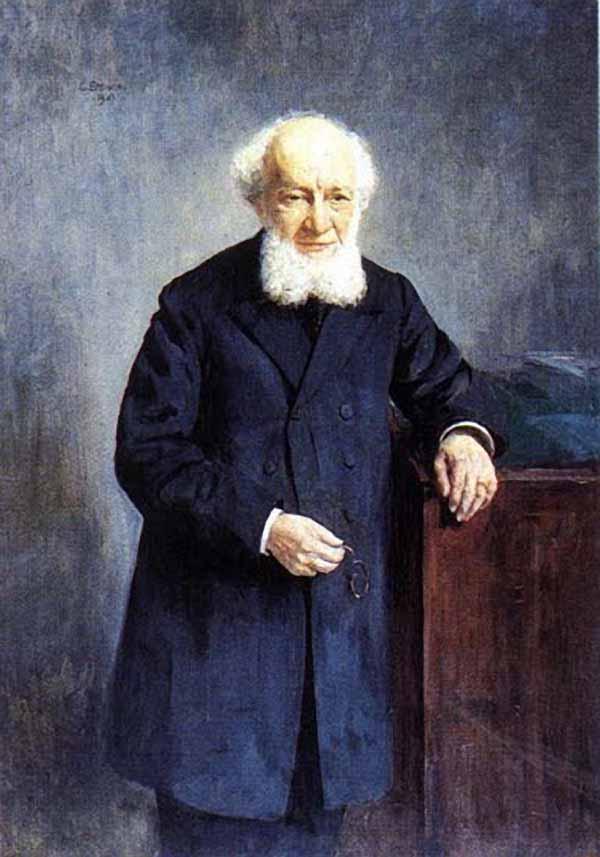 Егорнов Сергей Семенович. Портрет Семенова-Тян-Шанского Петра Петровича