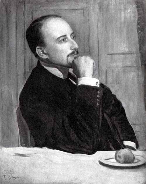 Русские художники. Лансере Евгений Евгеньевич.