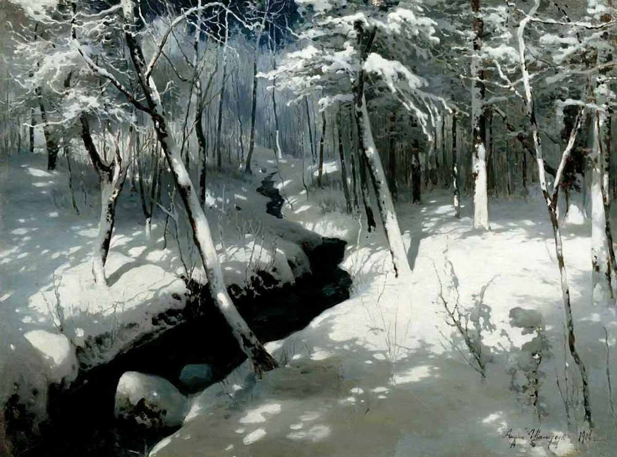 Шильдер Андрей Николаевич. Ручей в ...: www.artsait.ru/foto.php?art=sh/shilderA/img/2