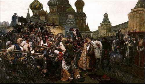 Шедевры русского изобразительного искусства.